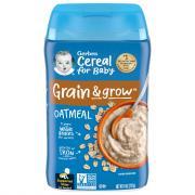 Gerber Oatmeal Cereal Single Grain