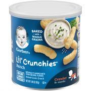 Gerber Graduates Lil' Crunchies Ranch Flavored Corn Snack