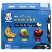 Gerber My First Fruits Starter Kit