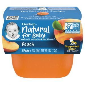 Gerber 1st Foods Peach