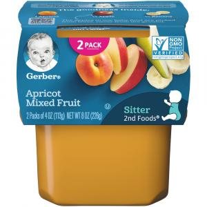 Gerber 2nd Foods Apricots & Mixed Fruit