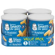 Gerber Lil' Crunchies Cheddar and Veggie Dip