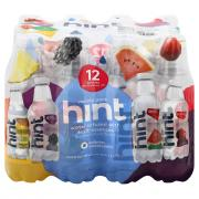 Hint Variety Pack Fruit Infused Water