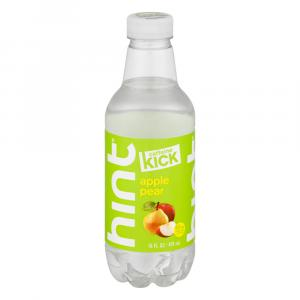 Hint Caffeine Kick Apple Pear Water