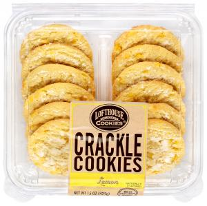 Lofthouse Lemon Crackle Cookies