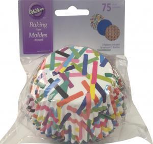 Wilton Pattern Colors Baking Cups