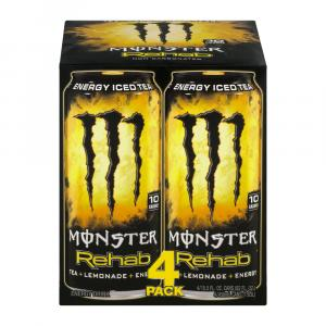 Monster Rehab Tea + Lemonade + Energy Drink
