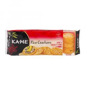 Ka-Me Gluten Free Rice Crackers Spicy Sweet Chili