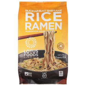 Lotus Foods Buckwheat Shiitake Mushroom Rice Ramen Soup