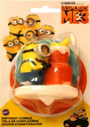 Wilton Minions Birthday Candle