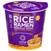 Lotus Foods Masala Curry Rice Ramen Noodle Soup