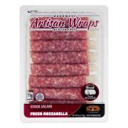 Formaggio Artisan Wraps Genoa Salami Fresh Mozzarella