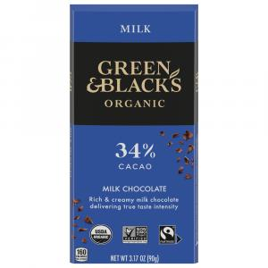 Green & Black's Organic Milk Chocolate Bar