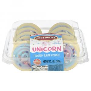 Lofthouse Unicorn Celebration Frosted Sugar Coookies