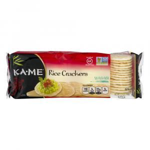 Ka-me Wasabi Rice Crunch Crackers