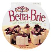 Formaggio Betta-Brie with Almonds & Cranberries