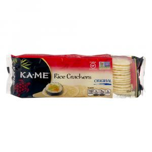 Ka-Me Plain Rice Crunch Crackers
