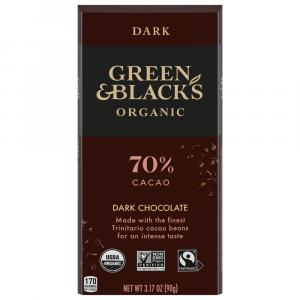 Green & Black's Organic Dark Chocolate 70% Cocoa