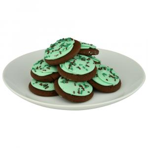 Lofthouse Mint Frosted Chocolate Cookies