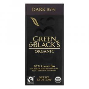 Green & Black's Organic 85% Cocoa Dark Chocolate Bar