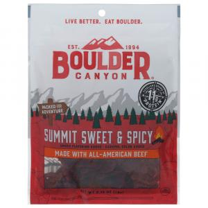 Boulder Canyon Summit Sweet & Spicy Beef Jerky