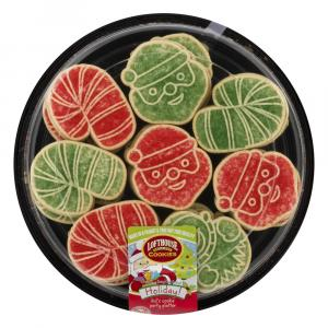 Lofthouse Holiday Kid's Cookie Party Platter