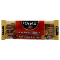 Ka-Me Black Sesame Soy Rice Crunch