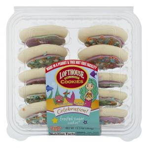 Lofthouse Mermaid Celebration Frosted Sugar Coookies