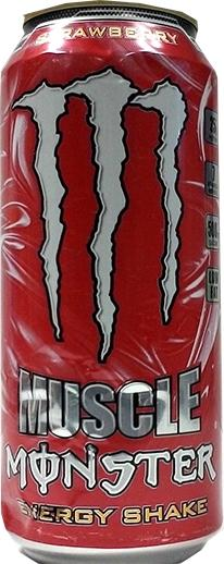 Monster Muscle Energy Strawberry