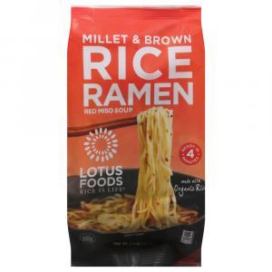 Lotus Foods Millet & Brown Rice Ramen with Miso Soup