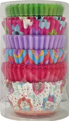 Mini Baking Cups Pinks And Multicolored