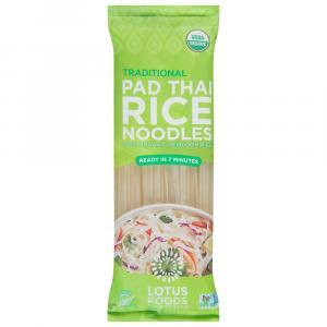 Lotus Foods Organic Traditional Pad Thai Rice Noodles
