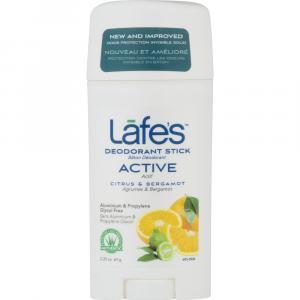 Lafe's Active Deodorant Citrus & Bergamot