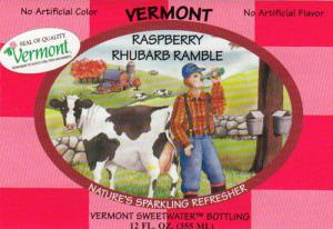 Vermont Sweetwater Bottling Co. Raspberry Rhubarb Ramble