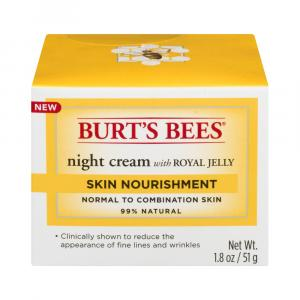 Burt's Bees Night Cream With Royal Jelly Skin Nourishment