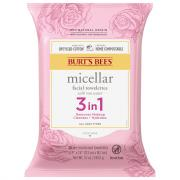 Burt's Bees Micellar 3 in 1 Makeup Removing Towelettes