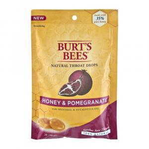 Burt's Bees Honey & Pomegranate Natural Throat Drops