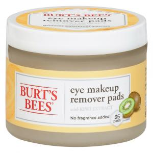 Burt's Bees Eye Makeup Remover Pads With Kiwi Extract