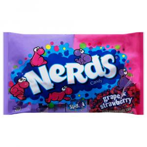 Wonka Grape/strawberry Nerds Candy Laydown Bag