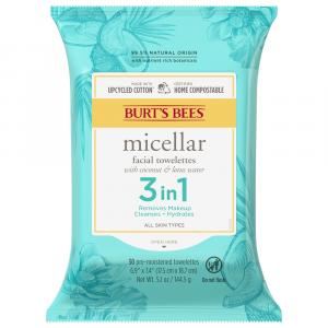 Burt's Bees Micellar Cleansing 3 in 1 Towelettes