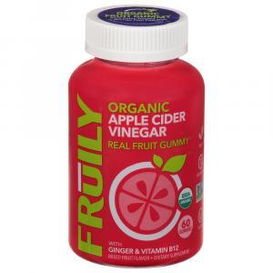 Fruily Organic Apple Cider Vinegar Real Fruit Gummy