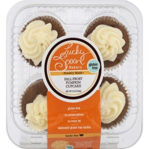 Lucky Spoon Bakery Gluten Free Fall Pumpkin Cupcakes