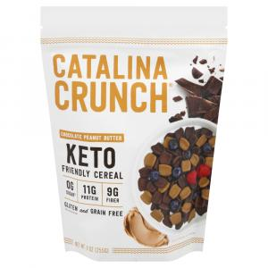 Catalina Crunch Chocolate Peanut Butter Keto Friendly Cereal