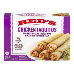 Red's Chicken Taquitos