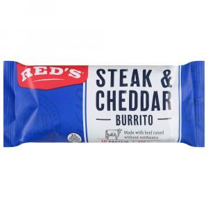 Red's Steak & Cheese Burrito