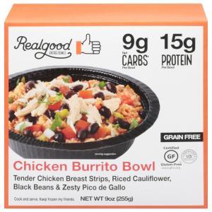 Realgood Chicken Burrito Bowl