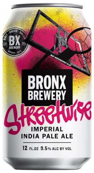 Bronx Brewery Streetwise Imperial IPA