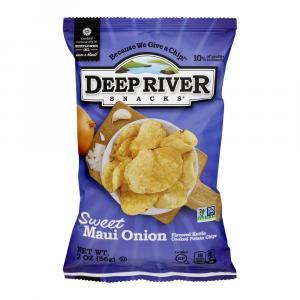 Deep River Sweet Maui Onion Kettle Chips