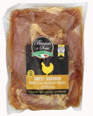 Bianco & Sons Sweet Bourbon Boneless Chicken Thighs