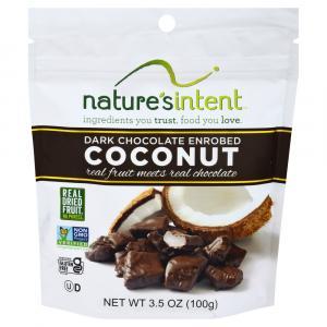 Nature's Intent Dark Chocolate Enrobed Coconut
